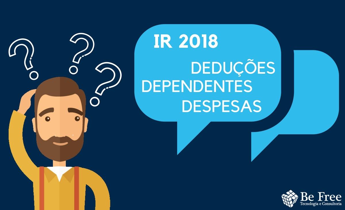 IR 2018 | Be Free Tecnologia e Consultoria